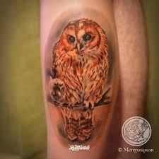 сова значение татуировок в россии Rustattooru