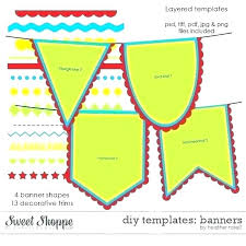 birthday banner template birthday banner template unique pennant banner template party printable craft free templates birthday