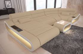 Luxury Fabric Sofa Concept U Shape