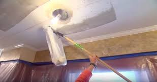 how to remove popcorn ceiling the