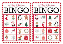 Online Christmas Card Maker Free Printable 11 Free Printable Christmas Bingo Games For The Family