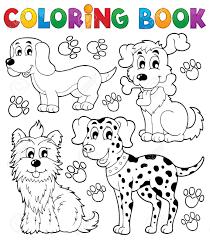 20027021 coloring book dog theme