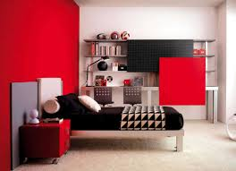 Bedroom Awesome Bedroom Design Ideas Magnificent Red And White