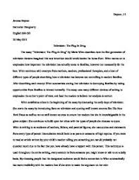rhetorical analysis example essay fossa schhh you know resume a rhetorical look television the plug examples of rhetorical analysis essay