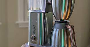 What's the best single cup coffee maker? Ge Appliances Cafe Specialty Drip Coffee Maker Review Brew Delicious Pots Fast For A Steep Price Cnet