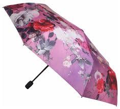 Купить <b>Зонт</b> полуавтомат <b>FLIORAJ Ноктюрн</b> розовый по низкой ...