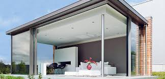 Living in comfort in your glass extension