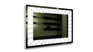 Led Lighted Pergola Fracture Led Mirror