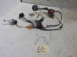 oem halogen wiring harness amp clip w bulbs chrysler pacifica you re almost done oem halogen wiring harness clip