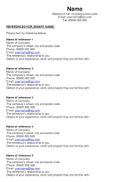What Does A Resume References Page Look Like Unique Click On Image