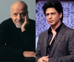 shah rukh khan receives autographed copy of the alchemist from shah rukh khan receives autographed copy of the alchemist from paulo coelho