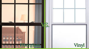 vinyl vs fiberglass replacement windows
