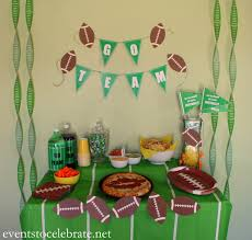 interior design fresh football themed baby shower decorations supplies full size