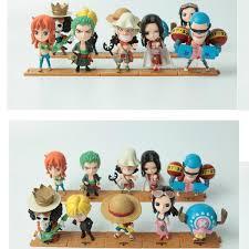 2019 <b>Good Quality</b> Set <b>One Piece</b> Luffy Zoro Sanji Hancock Action ...