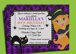 Free Halloween Birthday Invitation Templates Birthday Celebration Invitation Awesome Birthday Invitations