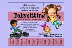 Babysitter Flyer Maker 13 Fabulous Psd Baby Sitting Flyer Templates In Word Psd