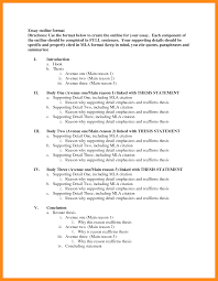 outline formats for essays co outline formats for essays