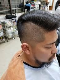 フェードカット来店したお客様のヘアスタイル銀座バーバー与野国道店