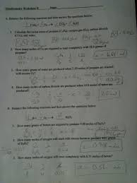 solution worksheet ii