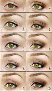 how to do easy everyday smokey eye makeup for green eyes