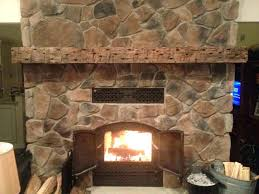 houston fireplace repair rustic