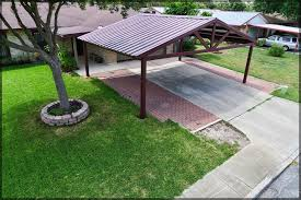 free standing patio covers metal.  Standing Free Standing Steel Carport  Kirby Job San Antonio Texas For Patio Covers Metal
