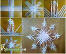 Снежинки своими руками схемы объемная 175