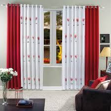 Pleasant Idea Red Curtains For Living Room  All Dining RoomRed Curtain Ideas For Living Room