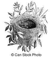 鳥 巣イラストとストックアート6825 鳥 巣イラストとベクターeps