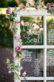 Picture Frame Seating Chart