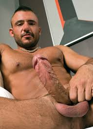sexy male gay naked chest muscles Model stud bulge.