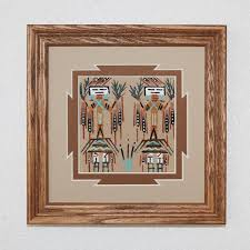 le hawley navajo sand painting native american