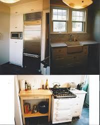 custom secretary space concrete countertops new wood floor 1920 s full house restoration 1930s craftsman kitchen remodel