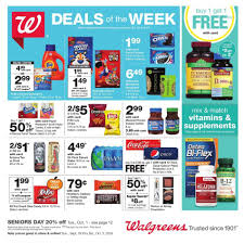 Walgreens Deer Park Tx Walgreens Flyer 09 29 2019 10 05 2019 Weekly Ads Us