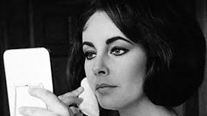 elizabeth taylor made an emo makeup tutorial before you was a thing