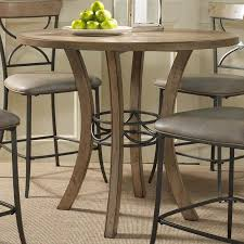 hilale charleston round counter height table in desert tan 4670 837 838 by dining rooms
