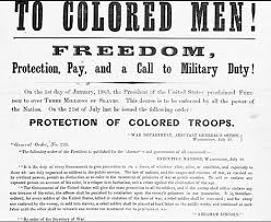 th amendment immigrants and the end of slavery in america  13th recruiting poster