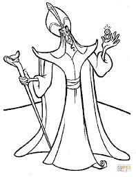 Kleurplaat Jafar