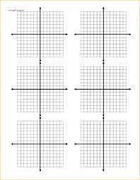 Cartesian Plane Graph Paper Coordinate Plane Graph Paper