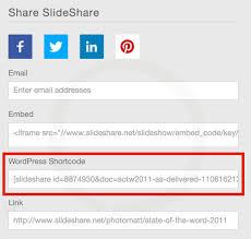 Slede Share Slideshare Slideshows Support Wordpress Com