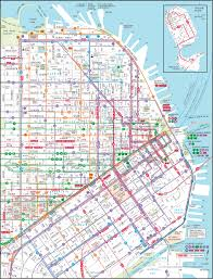 san francisco bay area metro map (bart) great way to get from Map Bus Route San Francisco downtown san francisco transit map san francisco muni bus route map