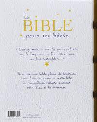 La Bible Pour Les Bébés Amazonca Karine Marie Amiot Madeleine