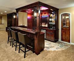 rustic basement bar ideas. Basement Bar Ideas Rustic View In Gallery A