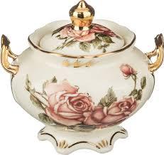 <b>Сахарница Lefard Корейская роза</b>, 215-009, 350 мл — купить в ...