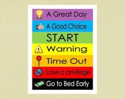 Printable Behavior Chart For Childreninstant By