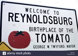 seniors ohio senior citizen travel a welcome sign in reynoldsburg ohio usa boasts