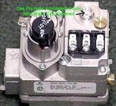 gas electric furnace troubleshooting simplified • arnold s valve pressure screw cap removed
