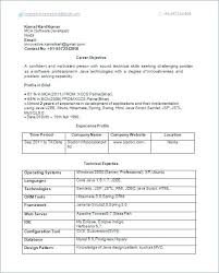 Best Resume Format For Software Developer Resume Format For Experienced Software Engineer Web Developer Resume