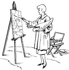 Ressources Educatives Libres Les Ressources Peintre Et Chevalet
