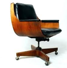 mid century office chair. mid century modern office chair white mod desk high back vintage